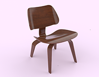 Eames Chair Rendering