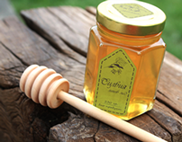"Label for Honey ""Sylvia"""