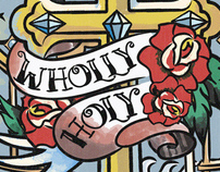 Wholly Holy Series Art