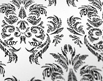 Barock pattern, text only