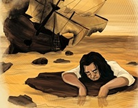 Gulliver's Travels (Book Illustration)