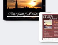 iPad Magazine App Design: Imagining Venice