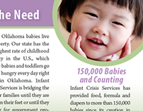 Infant Crisis Services Pocket Brochure
