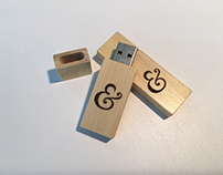 Engraved Bamboo USB