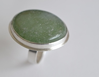 Adventurine Ring