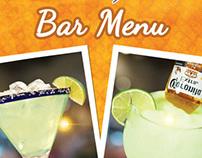 Mamacita's Bar Menu