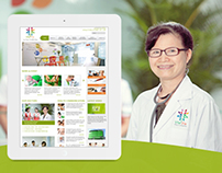 Website Vital Yte Hospital