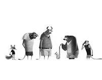 Design Sketches for VeenLand:2
