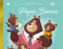 Papa Bisous/French little golden book/Hachette