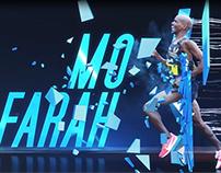 Mo Farah CWG