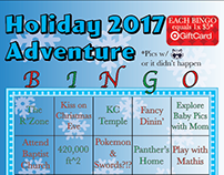 Holiday Adventure BINGO