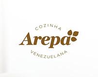 Identidade Visual - Restaurante Arepa
