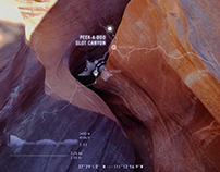 Peek-a-boo and Spooky Slot Canyons—Motion Graphic.