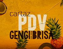 Cartaz PDV a3 | Gengibrisa