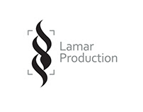‏Lamar Production logo I Arabic Moden Calligraphy