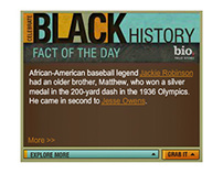 Widget - BLACK HISTORY