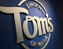Tom's of Maine Feature Wall