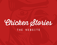 CHICKEN STORIES / Website