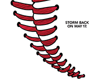Frontier Communications - Baseball Tornado