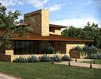 West Side Drive Residence | 3D Renderings