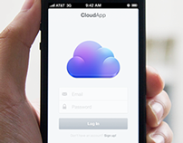 Cloudier iOS App