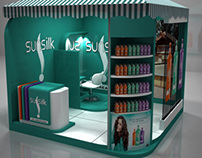 Sunsilk Summer Activation Booth