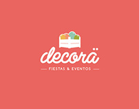 Decorä Identity & Website