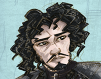 Game of Thrones : Jon Snow fanart