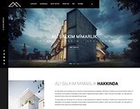 Ali Salkım Mimarlık Architecture Web Design