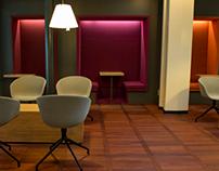 Servisair Aspire airport lounge in Copenhagen