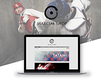Marcial Shop | Desktop Design