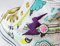 Custom Sneaker -Thunder-