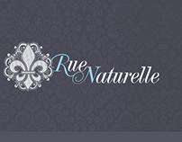 Diseño de sitio web Marca RueNaturelle