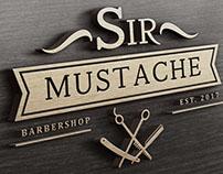 Barbershop Brand Sir Mustache