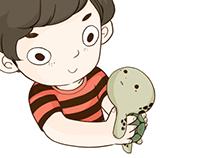 Boy&Turtle