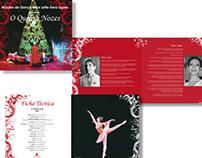 Programa Espetáculo de Ballet - Nice Leite Ilara Lopes