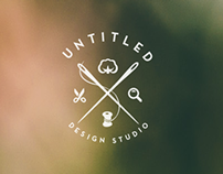 Untitled Logo Concept for a Design Studio