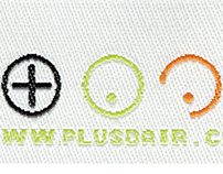 Plus d'air logotype 2004