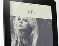 Fashion M - Web/UI Design Concept