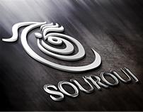 SOUROUJ - Trial Logo  - Step 01 - Sketch  & Re draw