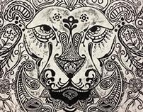 Paisley Lion