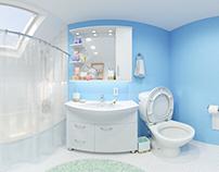 360 VR bathroom