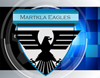 Markla Eagles Football Team Logo