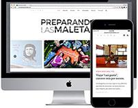Preparando las Maletas :: website