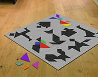 Carpets with board games
