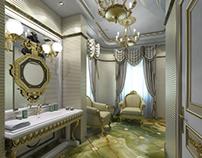 Classic interiors renderings