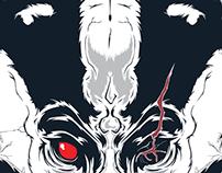Death is a Badger Logo // skull