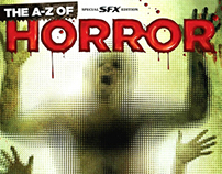 SFX A-Z Horror Special Editorial Layout