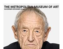 Six Page Brochure: Andrew Wyeth Portraits