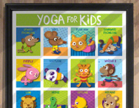 Yoga for Kids- Wall Art